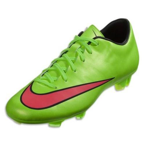 Nike Mercurial Victory V FG - Green/Hyper Punch
