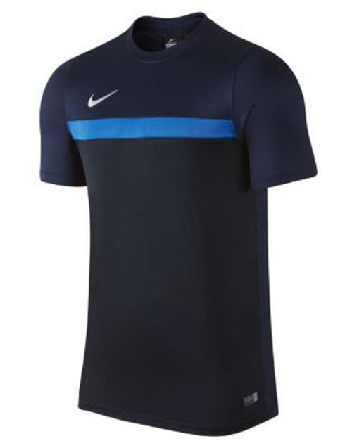 Nike Academy SS Training Top - Navy/White