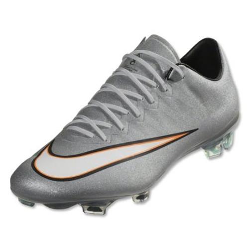 Nike Mercurial Vapor X CR FG - Metallic Silver/Hyper Turquoise/Bright Citrus/White SD (12917)