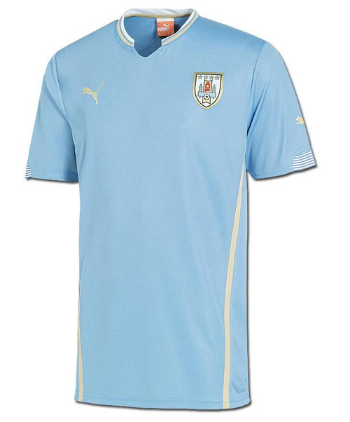 Puma Uruguay Home Jersey - Light Blue SD (6518)