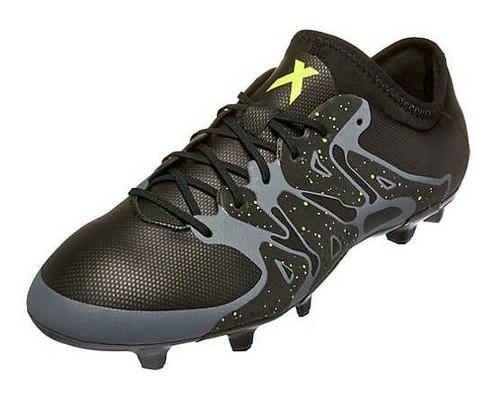 adidas X 15.2 FG/AG - Black/Solar Yellow/Night Metallic (RC)
