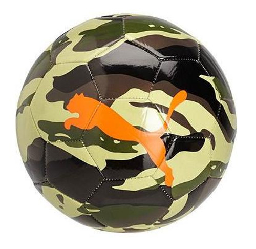 PUMA Neon Jungle Camo Ball - Green/Orange