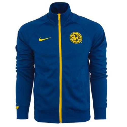 Nike Club America Core Jacket - Gym Blue/Yellow