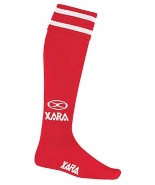 Milan SC Academy AWY Socks - Xara Logo - Red/White