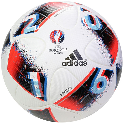 Adidas UEFA EURO 2016™ Official Match Ball - White/Pool/Dark Indigo
