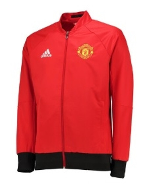 adidas Manchester United Anthem Jacket - Red/Yellow
