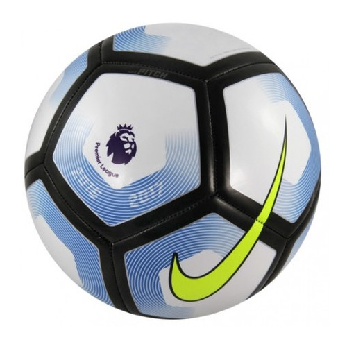 Nike Pitch Ball - White/Black/Blue