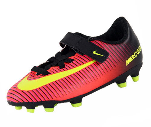 Nike Jr Mercurial Vortex III FG - Total Crimson/Black/Pink Blast/Volt (123016)