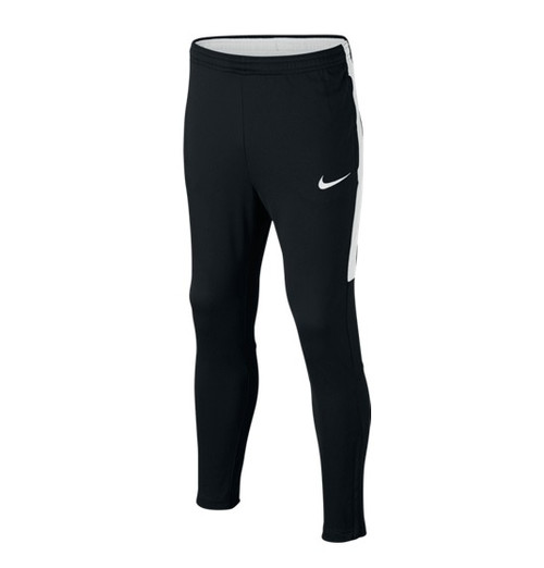 Nike Kids' Academy Training Black Pants - Black/White