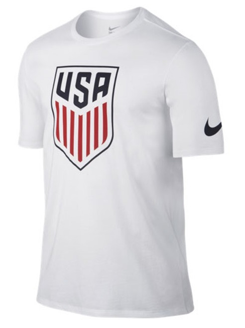 Nike USA Crest Tee Shirt - White
