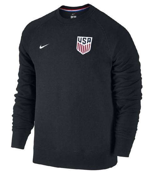 Nike Men's USA AW77 Authentic Crew - Black