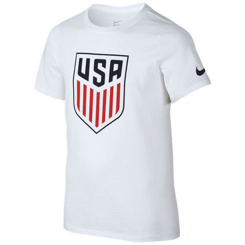 Nike Youth USA Crest T‑shirt  - White