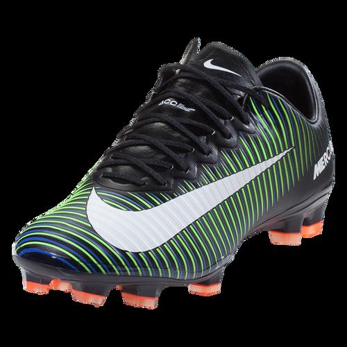 Nike Mercurial Vapor XI FG - Blk/Green/Blu (42317)