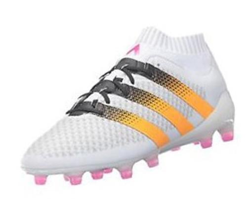 adidas Women ACE 16.1 Primeknit RC - White/Solar Gold/Black (11917)
