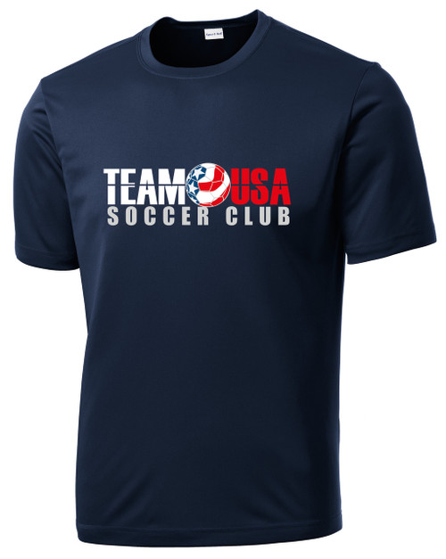 Team USA Men's Practice Tee - Navy
