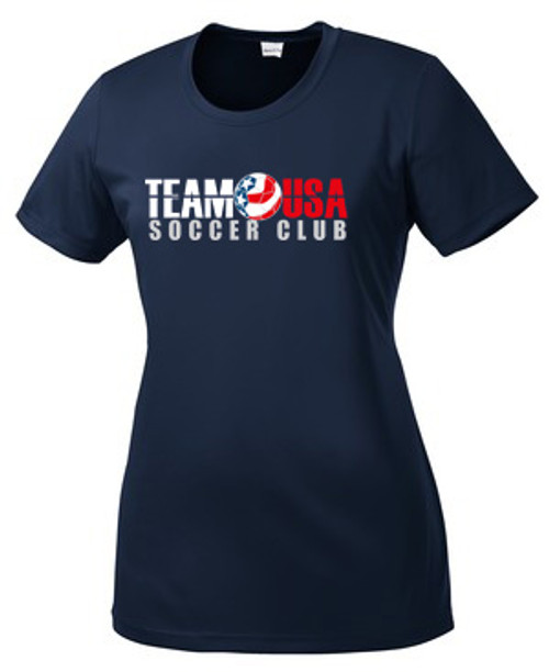 Team USA Women's Practice Tee - Navy