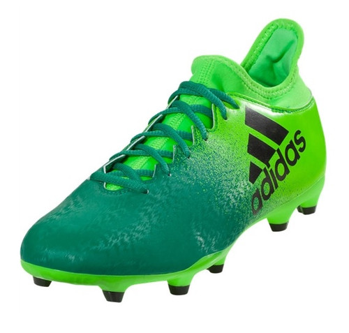 adidas X 16.3 FG - Solar Green/Core Black/Core Green (10717)