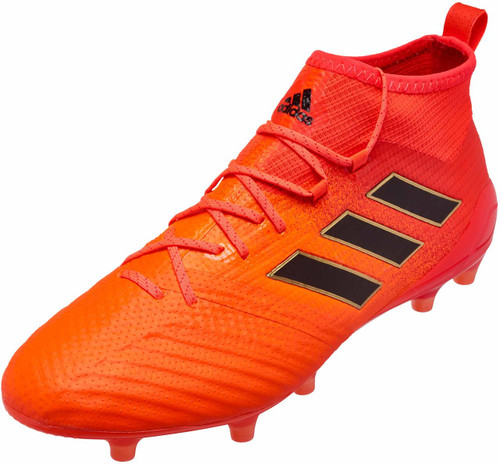 Adidas Ace 17.1 FG - Solar Orange/Core Black/Solar Red (10917)