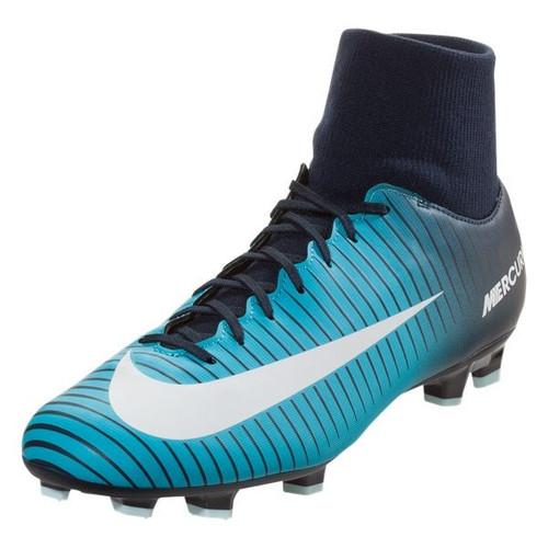 Nike Mercurial Victory VI DF FG - Obsidian/ White/Gamma Blue (102617)