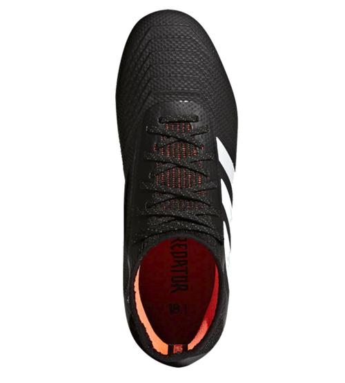 Adidas Predator FG Jr negro / blanco / solar ROJO (111617) OHP Soccer