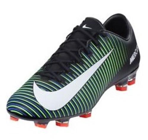 Nike Mercurial Veloce III FG - Black/White/Electric Green (112317)