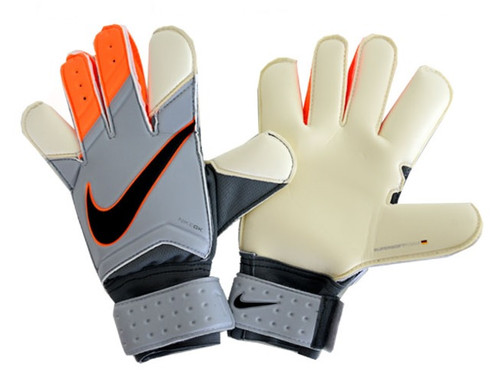 Nike GK Grip 3 - Grey/Total Orange (122517)