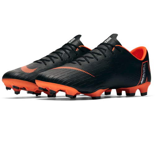 Nike Vapor 12 Pro FG - Black/Total Orange/White (3218)