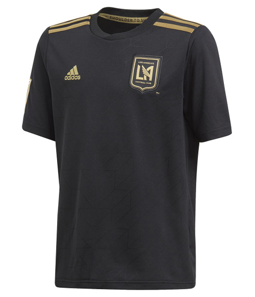 Adidas Youth LA FC Replica Jersey - Black/Gold (3918)
