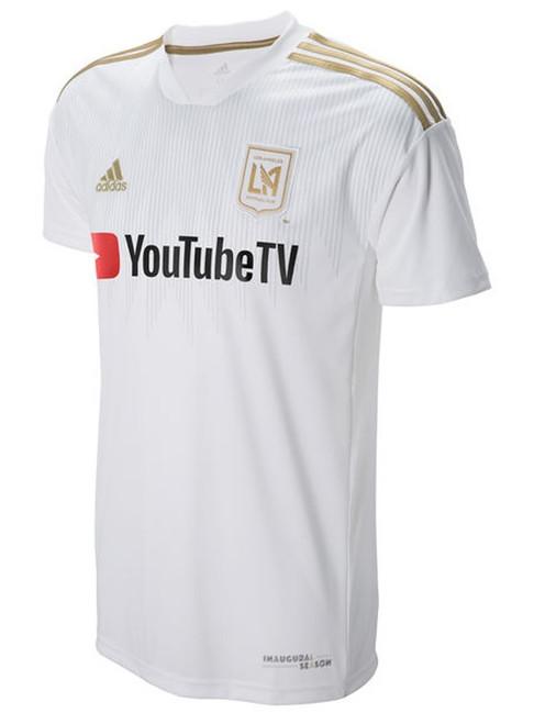 Adidas LA FC Replica Jersey - White/Gold (3918)
