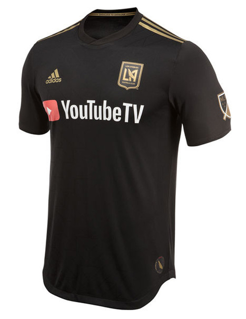 Adidas LA FC Authentic Jersey - Black/Gold (3918)