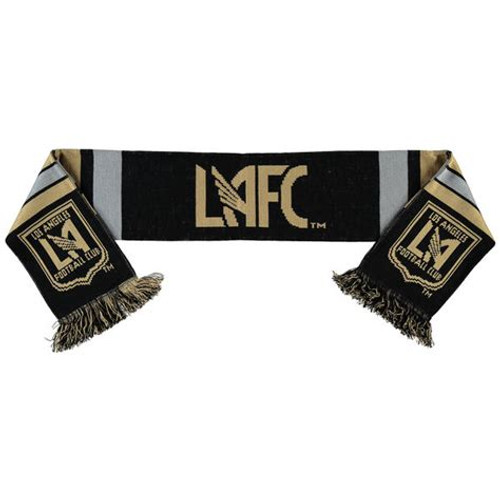 LAFC Center Logo Scarf - Black/Gold (31618)