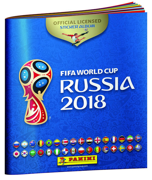 Fifa World Cup 2018 Russia Official Sticker Album