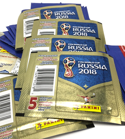 Fifa World Cup 2018 Russia Official Sticker Album Stickers