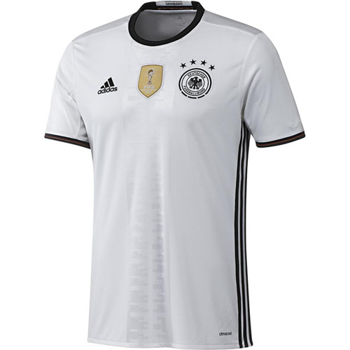 UEFA EURO 2016 Youth Germany Home Replica Jersey - White/Black (52818)