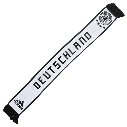 Adidas Germany 2018 Home Scarf - White/Black (52818)