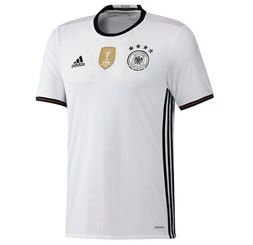 Adidas Germany Home Kit 2016/17 -White/Black (52818)