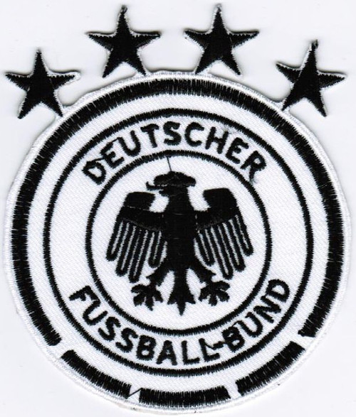Germany 2018 Patch - White/Black (6318)