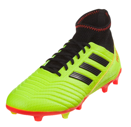 Adidas Predator 18.3 FG - Solar Yellow/Core Black/Solar Red (61818)