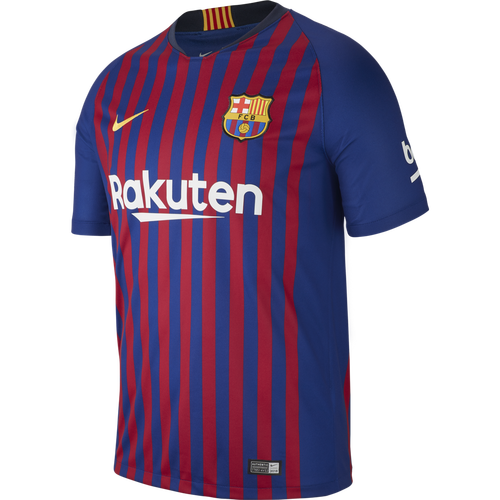 Nike Barcelona 18/19 Home Jersey -Deep Royal Blue/University Gold (72518)