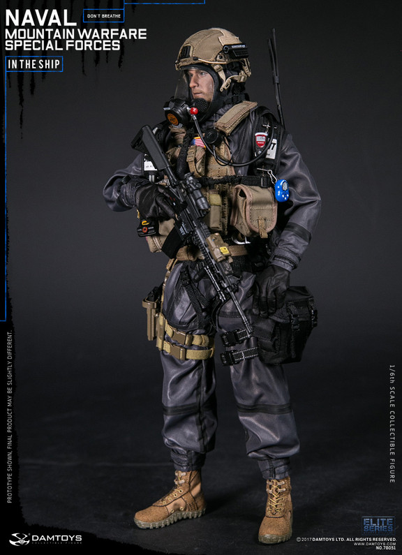 DAMToys: 1/6 NAVAL MOUNTAIN WARFARE SPECIAL FORCES