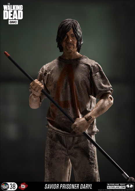 Walking Dead TV Series Daryl Savior Prisoner Figure