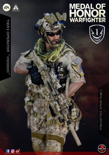 PREORDER Soldier Story Medal Of Honor Navy SEAL Tier One Operator Voodoo