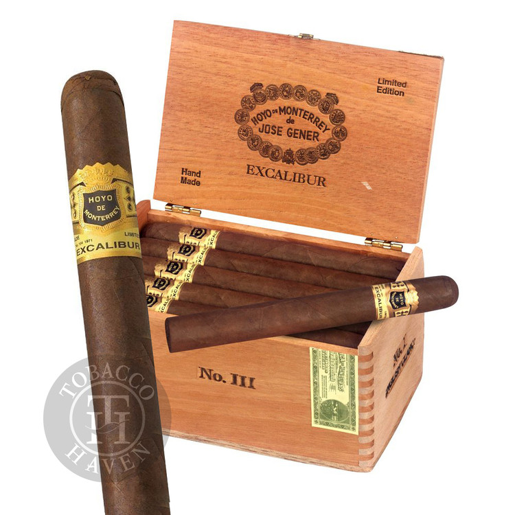 Excalibur  No III - Maduro -  6 1/8 x 50 Cigars (20 Count)