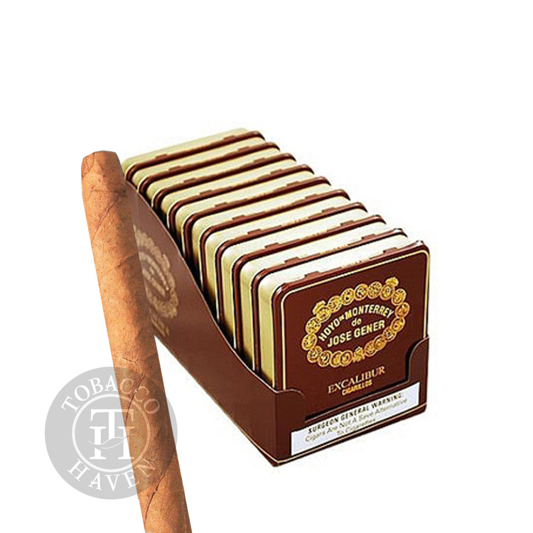 Excalibur Cigarillos  -  4  x 24 Cigars (10 Tins of 20)