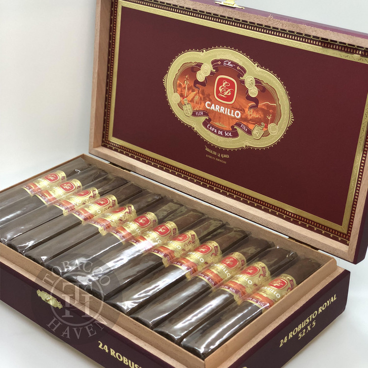 E.P. Carrillo Capa Del Sol Robusto Cigars (Box of 24)