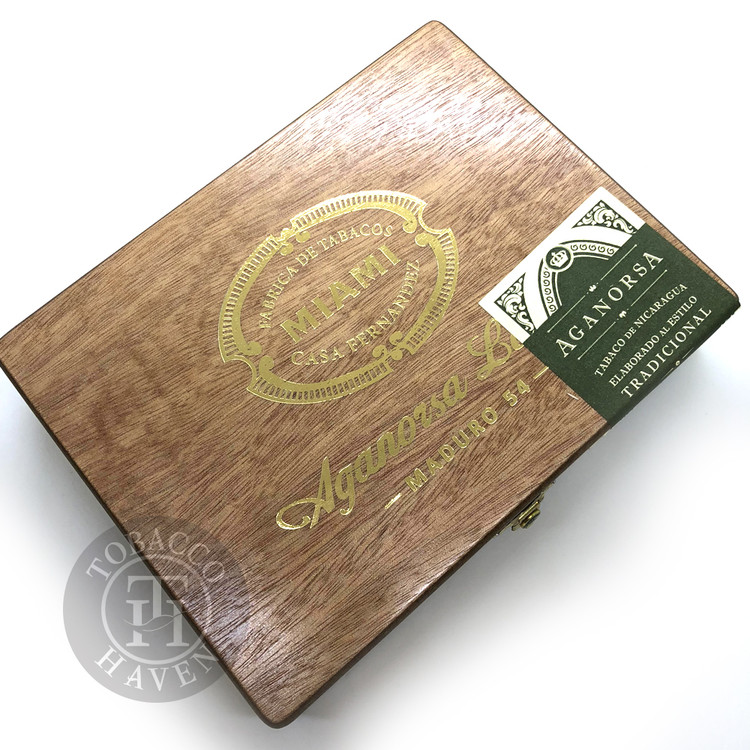 Casa Fernandez Miami Aganorsa Leaf Maduro Toro Cigars (Box of 15)