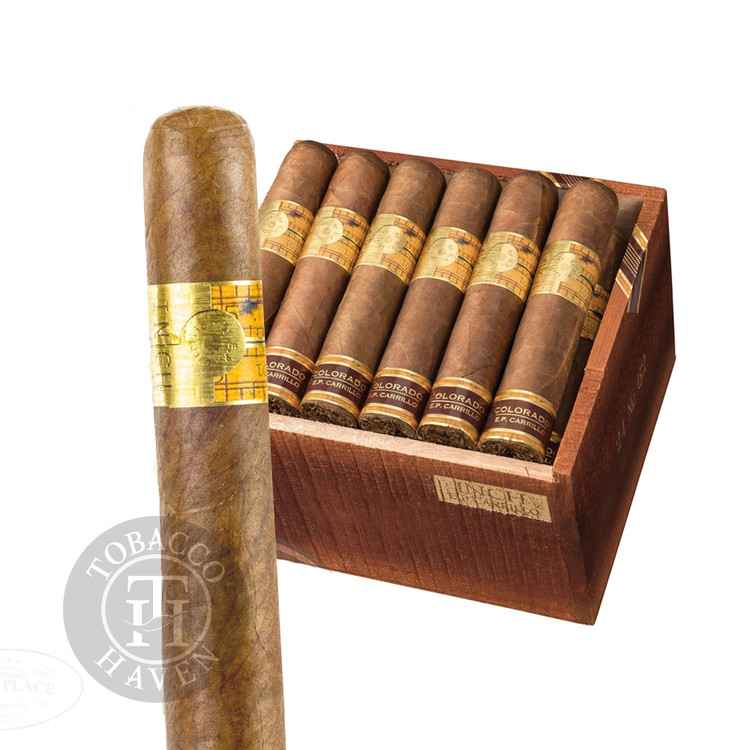 E.P. Carrillo - The Inch - Natural 62 Cigars, 5x62 (24 Count)