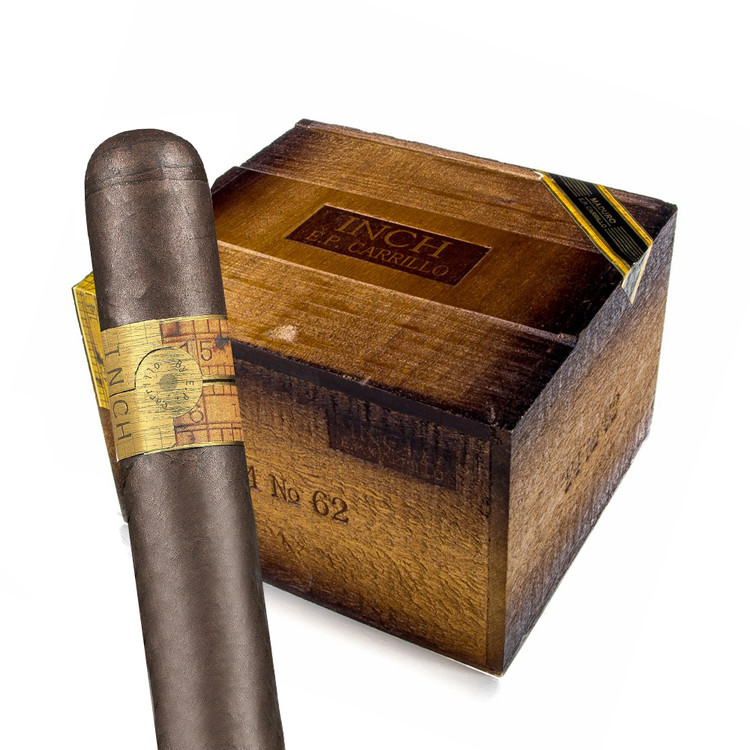 E.P. Carrillo - The Inch - Maduro 62 Cigars, 5x62 (24 Count)