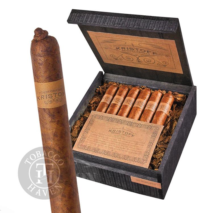 Kristoff - Criollo - Natural Torpedo Cigars, 6 1/4x52 (20 Count)