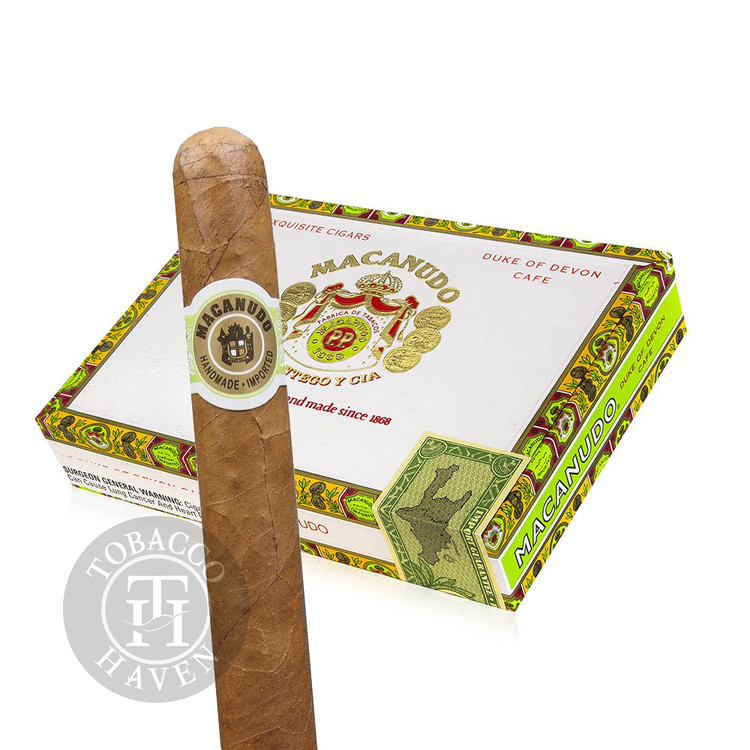Macanudo - Cafe - Duke Of Devon Cigars, 5 1/2x42 (25 Count)